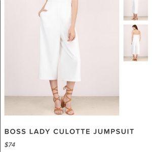 Tobi Pants - White Jumpsuit